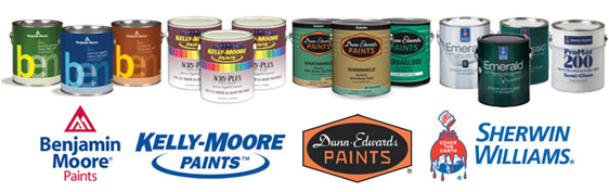 Barnoski Painting uses the best paint products available